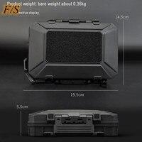 Kit di attrezzi per borsa rigida impermeabile FS con scatola di immagazzinaggio in spugna cassetta degli attrezzi per Organizer di protezione di sicurezza