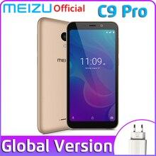 Глобальная версия Meizu C9 Pro, 3 ГБ, 32 ГБ, мобильный телефон, четыре ядра, 5,45 дюйма, смартфон, фронтальная, 13 МП, задняя, 13 МП, аккумулятор 3000 мАч