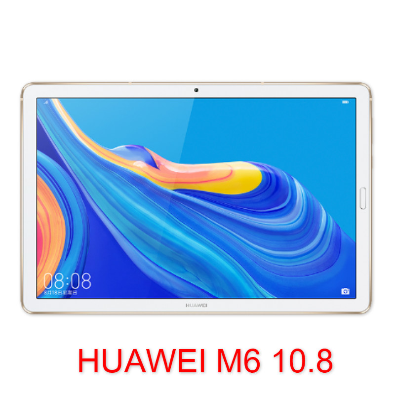 Original HuaWEI Mediapad M6 10.8 Inch Kirin 980 Octa Core WIFI / LTE Table Android 9.0 IPS Screen Type-C 7500mAh 2560x1600