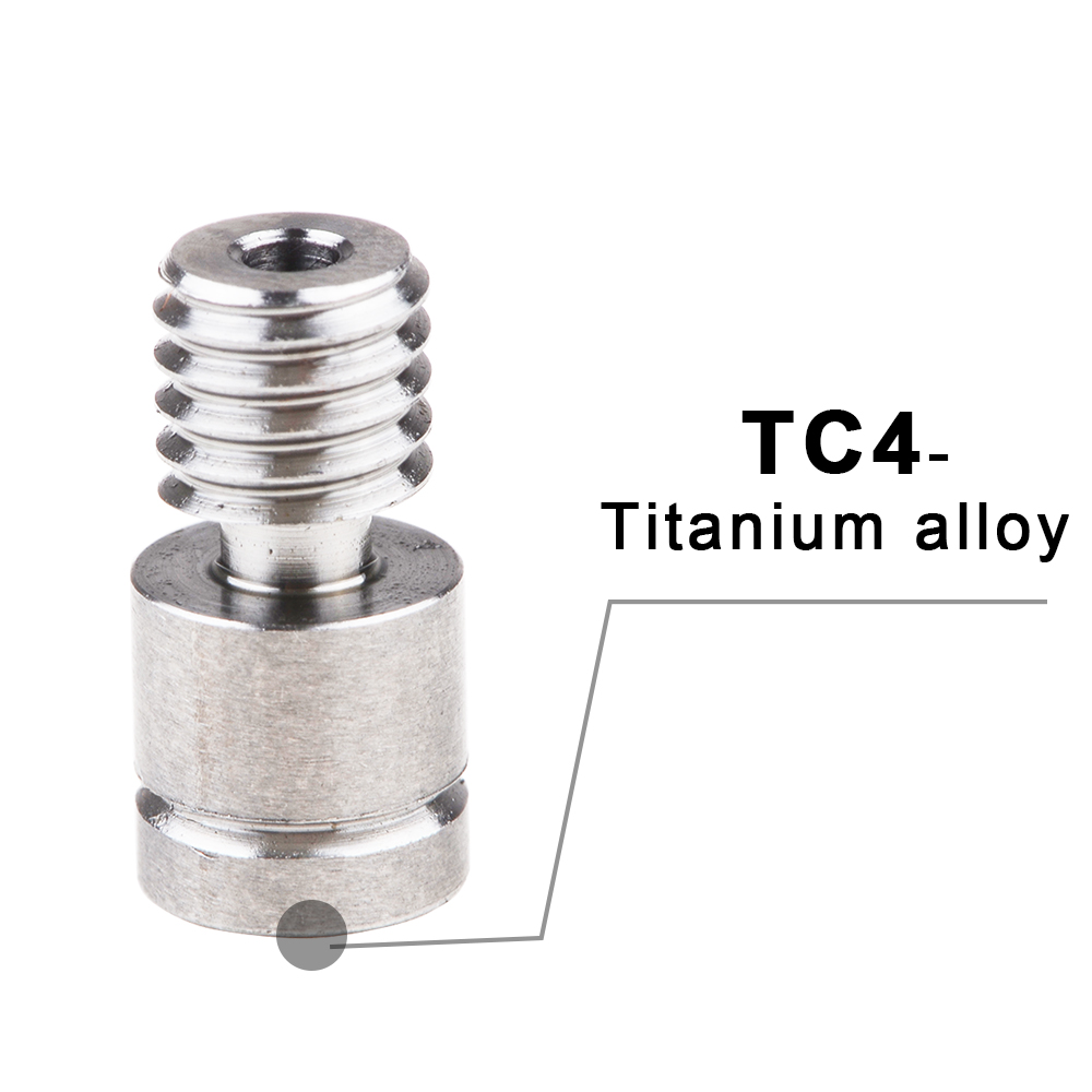 IsMyStore: All Metal Hotend Kit upgrade CR10 extruder Titanium Alloy heater break 1.75MM  4.1MM for Creality CR-10 Printer High temperature