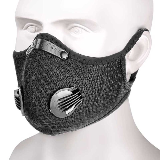 Breathable Bacteria-proof Sport Face Mask With Activated Carbon PM 2.5 Anti-pollution Running Cycling Facial Care Mask 1