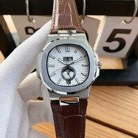 Relojes Para hombre de primera marca de lujo automático mecánico deportivo reloj retro reloj luminoso Relojes mecánicos     -