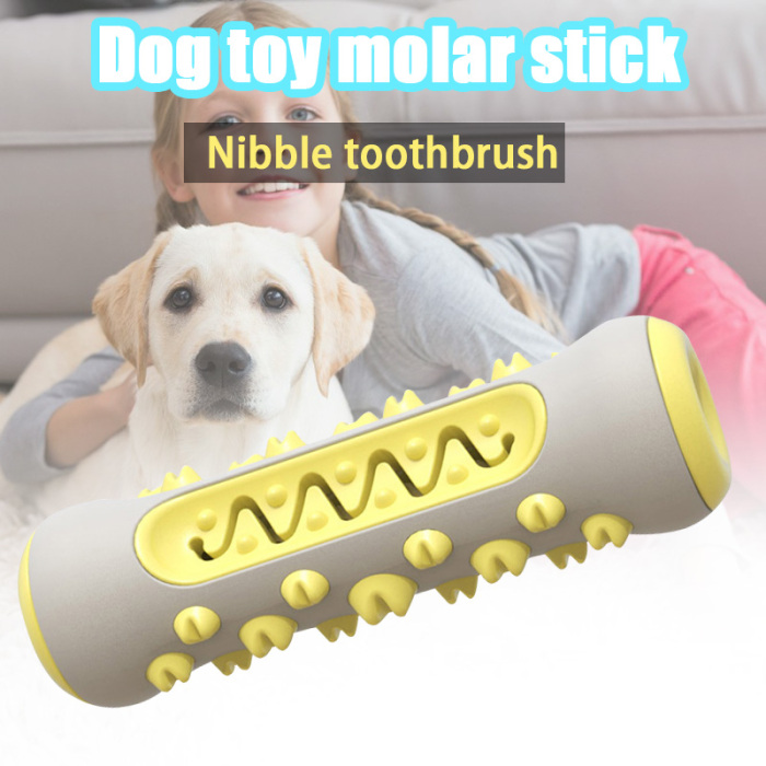 Pet Dog Molar Stick Toothbrush Teeth Cleaning Toy Chew Brushing Teeth Care S55