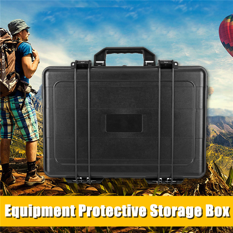 Plastic Equipment Waterproof Hard Shell Carry Case Bag Protective Storage Tool Box Safety Protector Organizer Hardware Tool Box