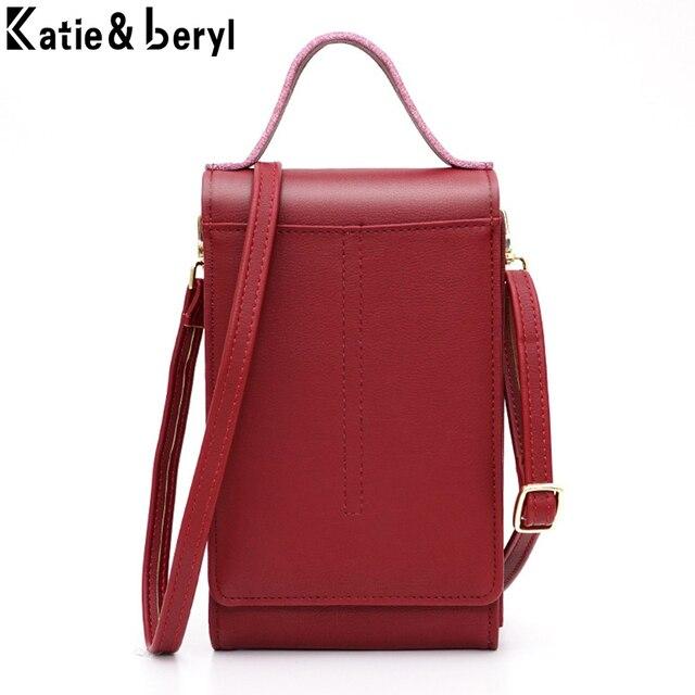 2020 ファッションミニクロスボディバッグ人工革小さな女性財布携帯電話コインカード財布レディースショルダーバッグショッピングバッグ