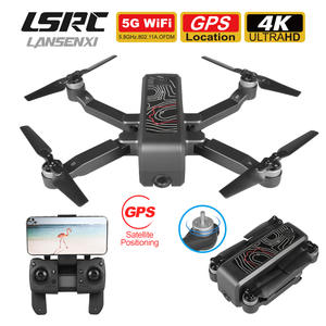 Quadcopter CAMERA Gps-Drone Foldable Professional LSRC Fpv Hd Brushless Wifi 4K 5G Gift