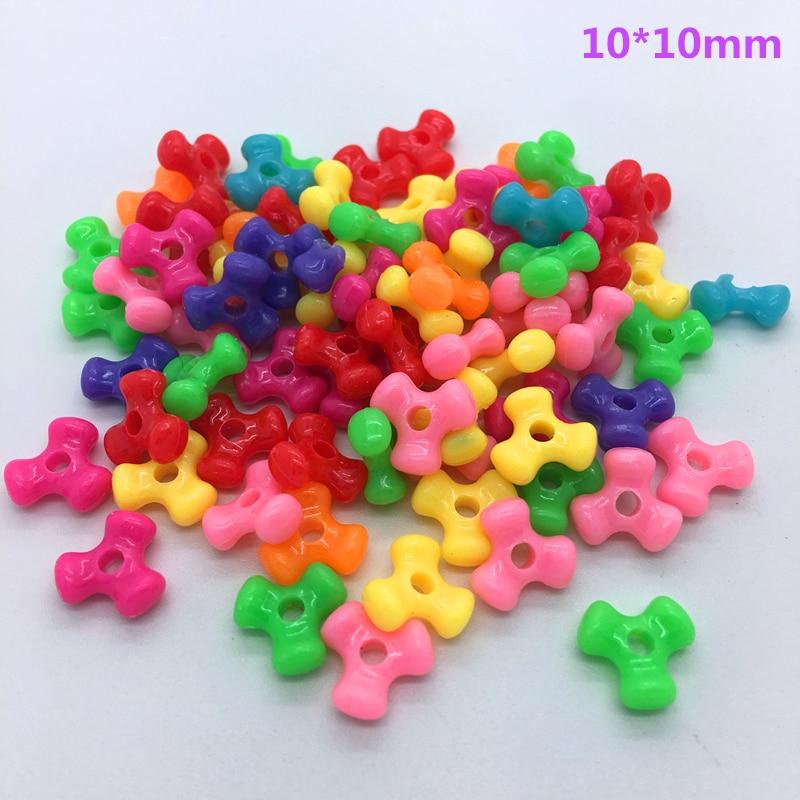 50 шт разноцветные акриловые бусины с перфорацией DIY серьги для изготовления ювелирных изделий ожерелье браслет аксессуары - Цвет: 10