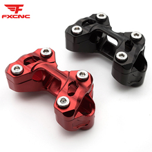 22mm CNC Motorcycle Handlebar For Ducati MONSTER 696 2008-2014 Monster 1100 / EVO 2009-2013 Riser Handle Bar Mount Clamp Set free shipping universal silver motorcycle cnc metal 22mm handle bar clamp handlebar mount riser