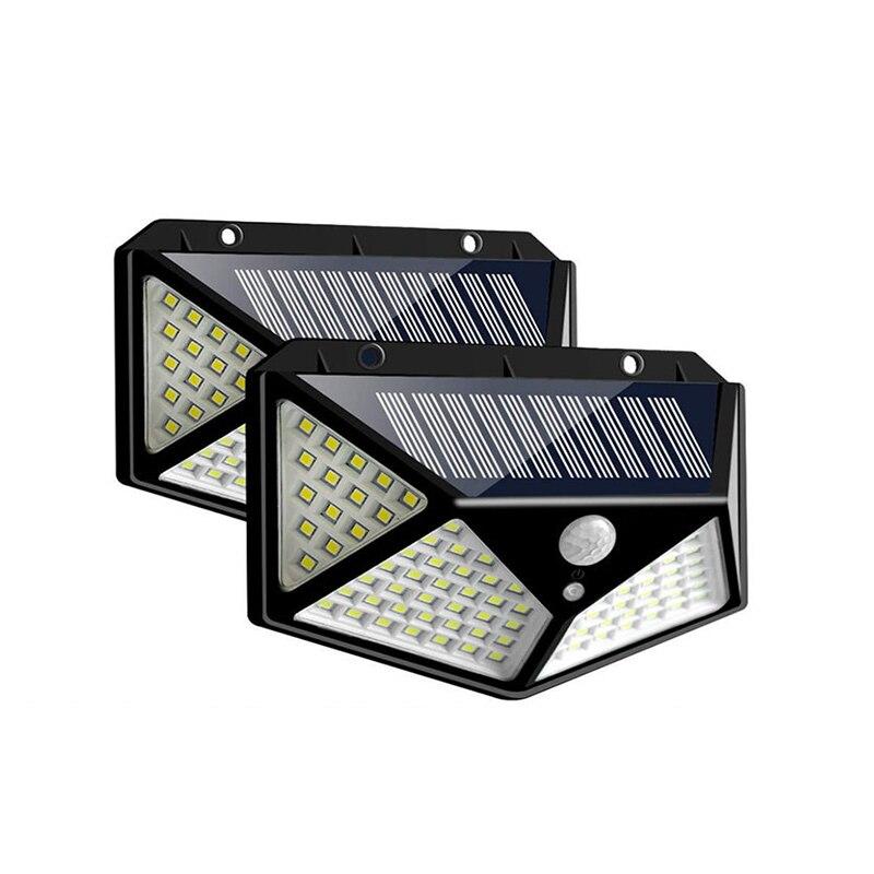 LED Solar Light Outdoor Solar Lamp PIR Motion Sensor Wall Light Waterproof Solar Powered Sunlight For Garden Pathway Decoration