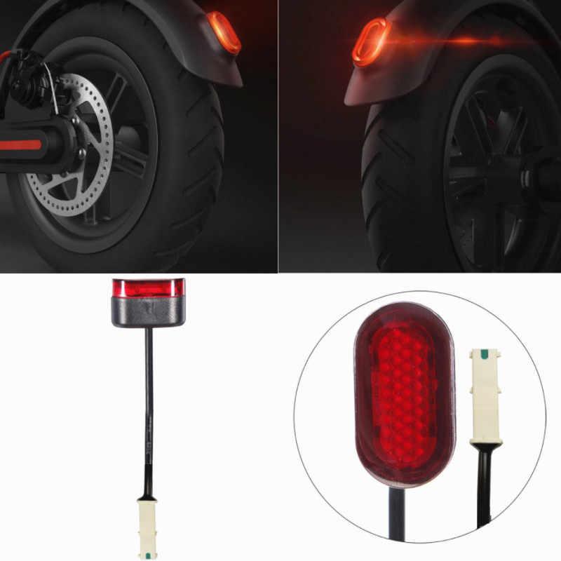 Scooter ışık XIAOMI MIJIA M365 elektrikli Scooter arka lambası Xiaomi M365 M187 Pro arka kuyruk işık emniyet uyarı stop lambası|Scooter Parçaları ve Aksesuarları| - AliExpress