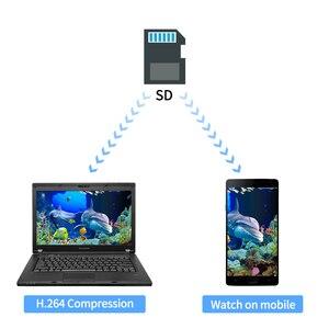 Image 3 - Fishing Camera Fish Finder 7 Inch 1280*720 HD Video Underwater Camera 12pcs White LEDs+12pcs Infrared Lamp ICE Fishing DVR