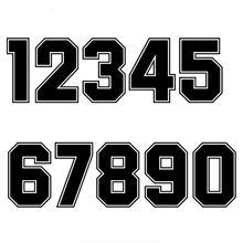 Креативные гоночные наклейки на шлем с номером аксессуары для