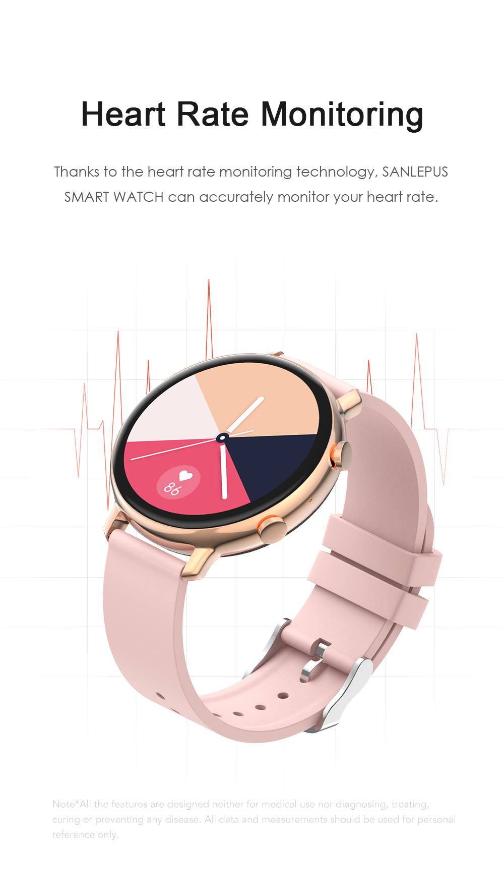 H283bdc29819749b98f28a8608fcebdd0n SANLEPUS ECG PPG Smart Watch With Dial Calls 2021 New Men Women Smartwatch Blood Pressure Monitor For Android Samsung Apple