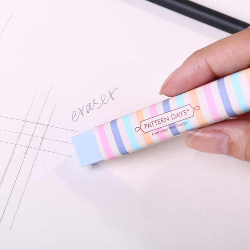 1PC Schreibwaren Kawaii Cartoon Bleistift Radiergummis für Büro Schule Kinder Preis Schriftlich Zeichnung