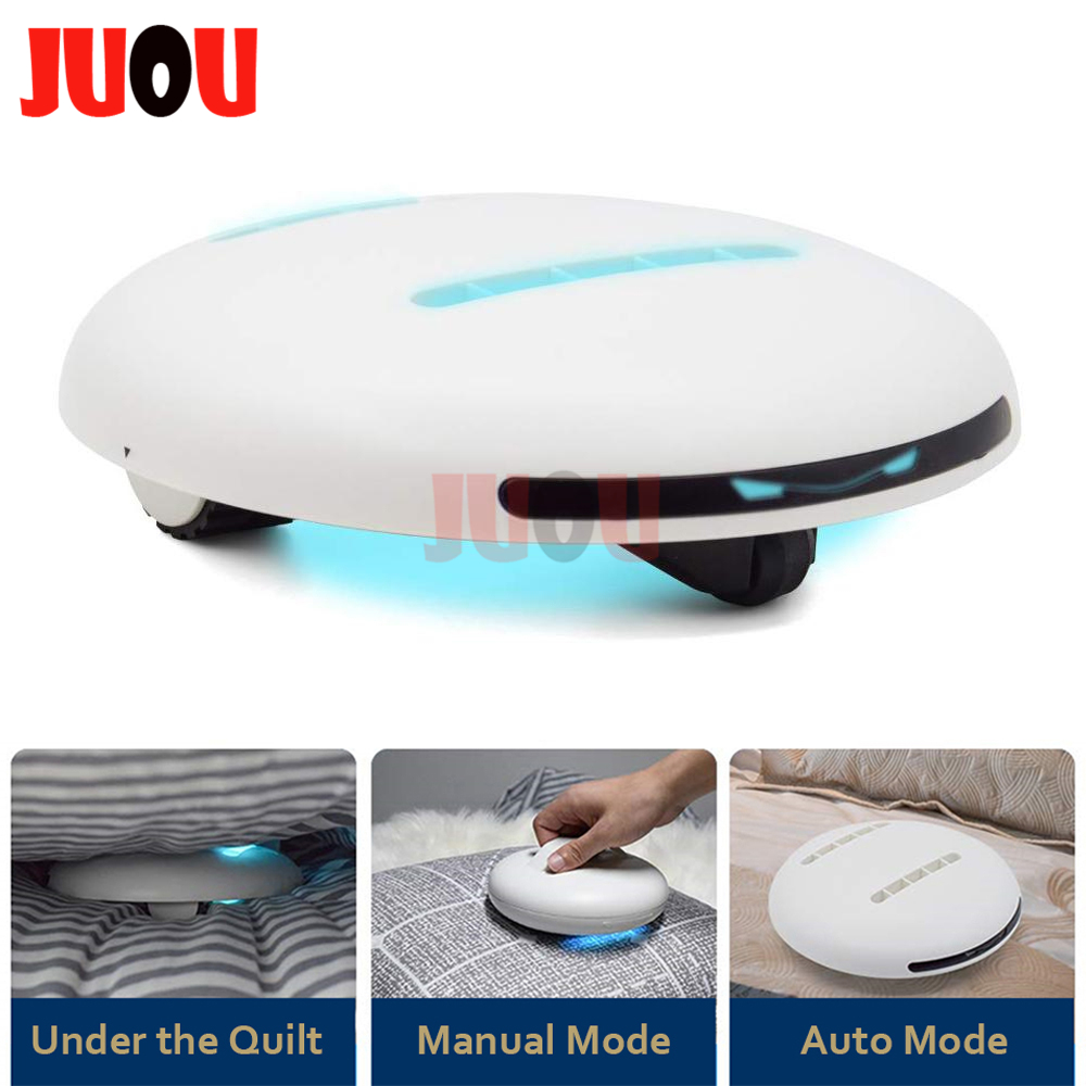 UV Cleaning Robot Automatic Bed Smart Sensor Cleaner Robots Sterilization Mite Bacteria Mold Remover Wireless Household Machine image