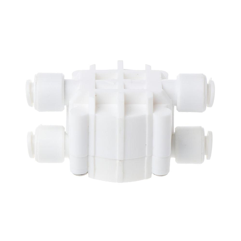 4 Ways 1//4 Port Auto Shut Off Valve For Ro Reverse Osmosis Water Filters Syst HH