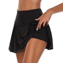 Volleybal Skorts Badminton Tennis-Rokken Sport Running Jurk Veiligheid Taille Hoge Dance