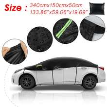 Cover Half-Body-Covers Car-Case Snow-Protection Sun-Rain Universal Waterproof Outdoor
