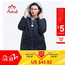 New 2018 winter jacket women Fashion Design Golden Hooded Winter Jacket Women Warm Long  FR 5076