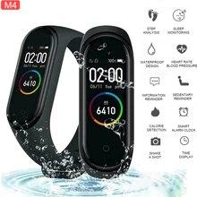 M4 Bracelet intelligent 4 Bracelet Bluetooth montre fréquence cardiaque Fitness moniteur de sommeil étanche Bracelet intelligent montre hommes femmes