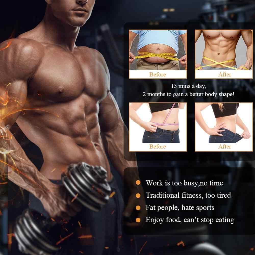 ANLAN Smart EMS Bauch Trainer Muscle Drahtlose Stimulator Elektrische Gewicht Verlust Aufkleber Körper Abnehmen Massager Gürtel Unisex