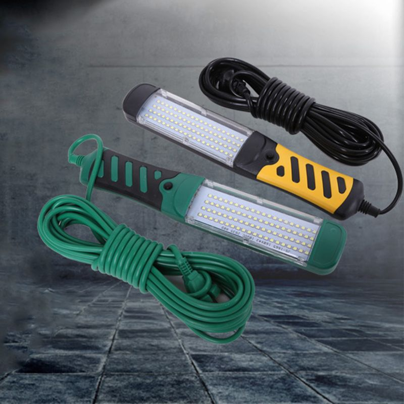 Portable LED Emergency Safety Work Light Handheld 80 Led Bulbs Flashlights Car Inspection Repair Torch 220V With Hook