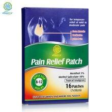 KONGDY – Patch médical anti-douleur en Polyester, 16 pièces, 7x10 CM, coussin chauffant, plâtre à base de plantes pour soulager les douleurs dorsales