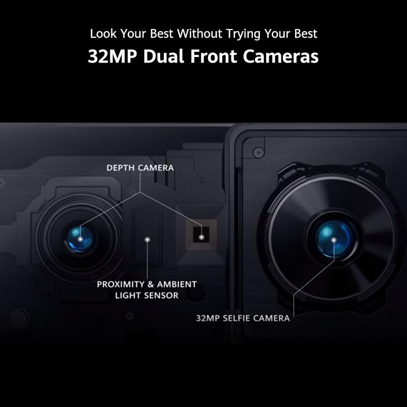 Google Play Global Version Huawei P40 Pro 5G 8GB 256GB Kirin 990 Smartphone 50MP Quad Cameras 6.58'' 90Hz Screen 40W SuperCharge
