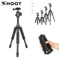 كاميرا تبادل لاطلاق النار خفيفة الوزن محمولة للسفر ترايبود الألومنيوم سطح المكتب لكانون 80D 60D نيكون D3100 P520 سوني SLR DSLR الرقمية