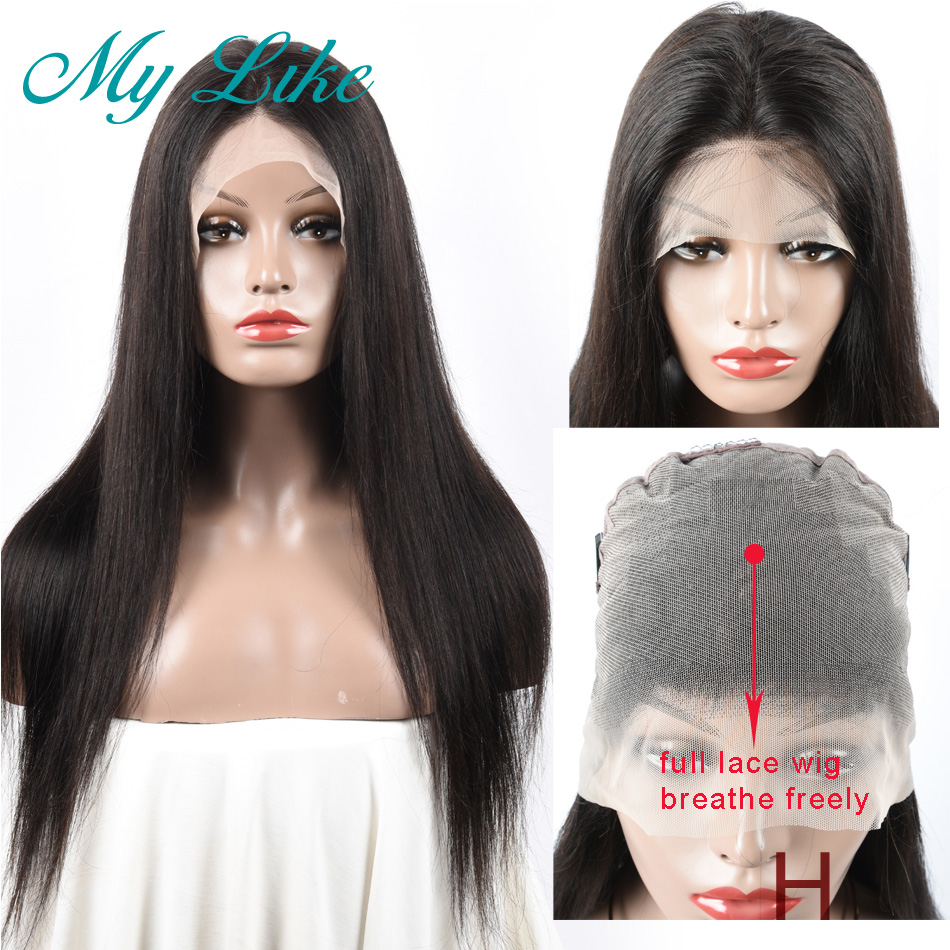 My Like High Ratio Straight Full Lace Wig 10