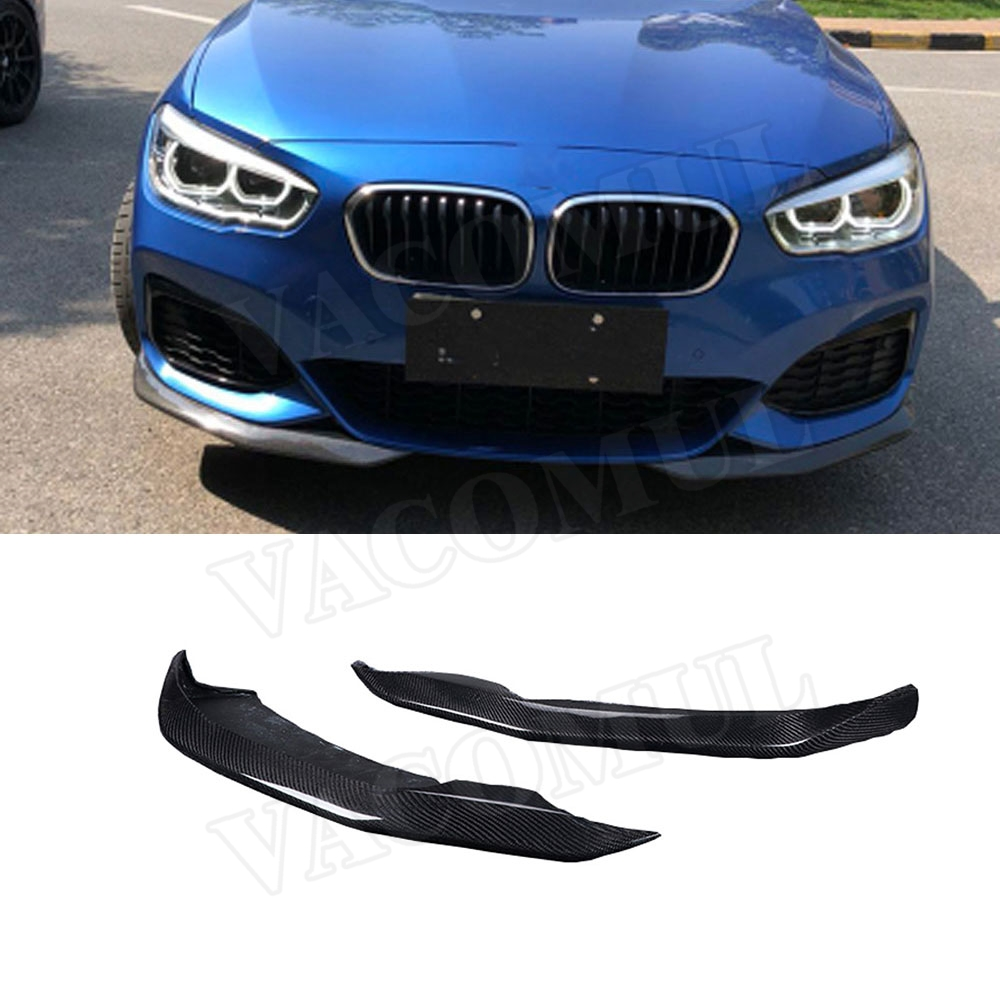 Carbon Fiber Front Bumper Splitter Flaps Canards for BMW Mercedes Audi Universal