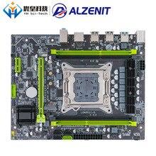 цены ALZENIT X79-2.81B Intel X79 New Motherboard LGA 2011 Xeon E5 RECC/Non-RECC DDR3 128GB M.2 NVME USB3.0 M-ATX Server Mainboard