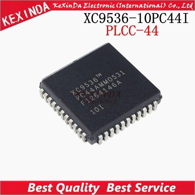 XC9536 10PC44C XC9536 10PC44I XC9536PC44 XC9536 PC44 PLCC 44 10 unids/lote envío gratis