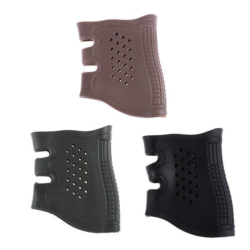 Livraison gratuite russie nouveau pistolet tactique pistolet caoutchouc protéger couverture poignée gant universel anti-dérapant étui chasse accessoires