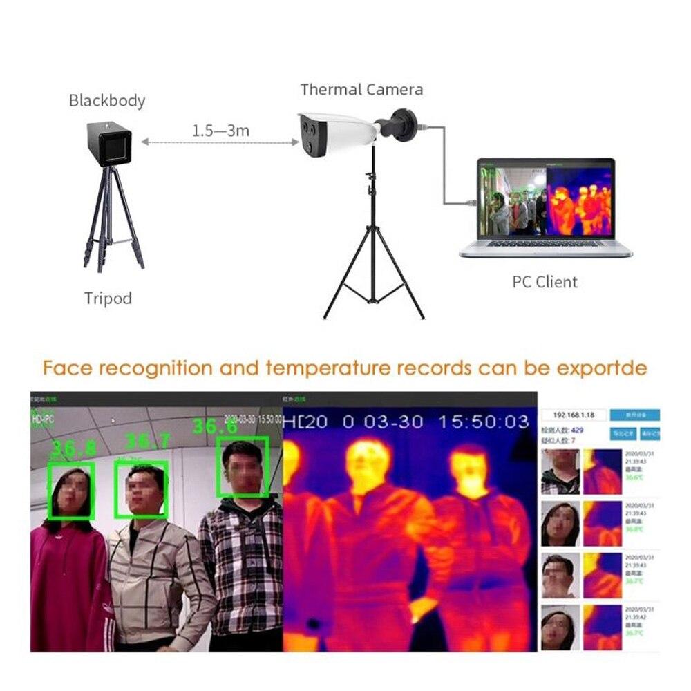 Купить новейшая бинокулярная камера для обнаружения лихорадки тепловизионная