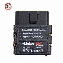 الأصلي Vgate vLinker MC + ELM327 wifi ماسح الرادار الخاص بالسيارة OBD2 السيارات بلوتوث 4.0 أداة تشخيص ل أندرويد/IOS شحن مجاني