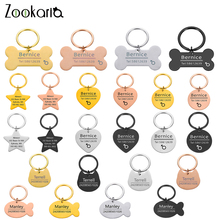 Personalized Engraved Cat Dog Pet ID Tag Dog Anti-lost Collar Charm Pet Name Collar Puppy Cat Collar Accessories for Dog