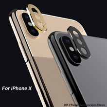 For iPhone X XS Max XR 7 8 Camera Lens Protector Aluminum Ring Case For iPhone 6 6s 7 8 Plus Camera Mobile Lens Protection Cover аксессуар защита камеры apres metal ring lens protector для iphone 6 plus 6s plus black