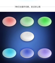 remax Colourful Small night light wireless charger Silica gel quick charging base supports Qi wireless protocol