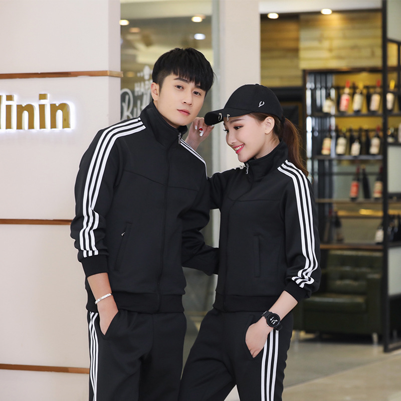 Sunny Scholar 547 Sports Set Men's Spring And Autumn Women's Long Sleeve Thin Running Athletic Clothing Couple Clothes Hoodie