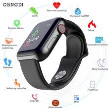 D28 Smart watches Waterproof Sports Fitness Bracelet Sleep Tracker Heart Rate Mo
