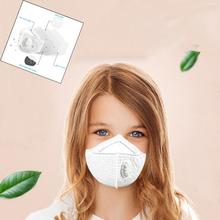 12/24 / 48pcs mask N95 particulate respirator mask PM2.5 dust mask child dust mask with valve M-shaped nose clip masks 30D5