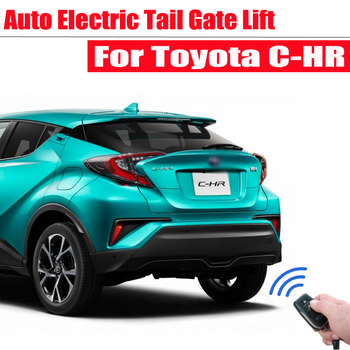 Car Electronics smart automatic electric tail gate lift For Toyota CHR C-HR 2018-2019 Tailgate Remote Control Trunk Lift car electric tail gate lift special for lexus es 2018 easily for you to control trunk
