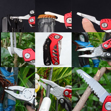 Camping folding knife stainless steel outdoor tools multi-functional knife pliers changeable pliers multi functional mini pliers for outdoor activities household use