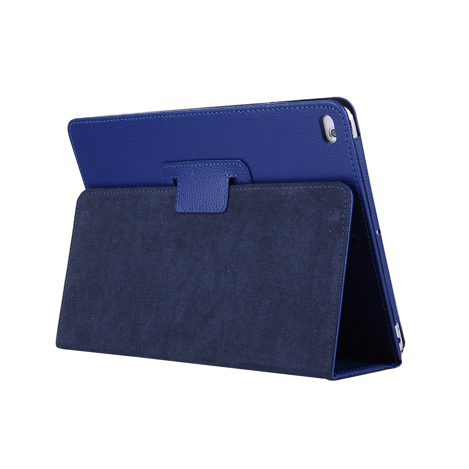 for iPad 10.2 dkblue Gray For Apple iPad 10 2 Case 2019 A2197 A2200 A2198 A2232 Foilo Stand PU Leather Cover