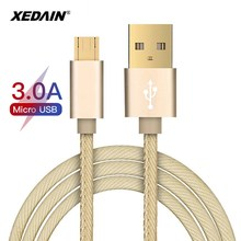 Quality Micro USB Cable 3A Fast Data Sync Charging Phone For Samsung Huawei LG Xiaomi Android Usb Mobile