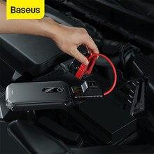 Baseus 12000mah 1000A przenośny Bank mocy urządzenie do uruchamiania awaryjnego samochodu rozrusznik awaryjny 12V Auto Booster urządzenie zapłonowe akumulator do samochodu