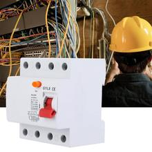 цена на Residual Current Circuit Breaker 4P 400V AC 50/60Hz 25A 40A 63A MCB Circuit Breaker with Leakage Protection