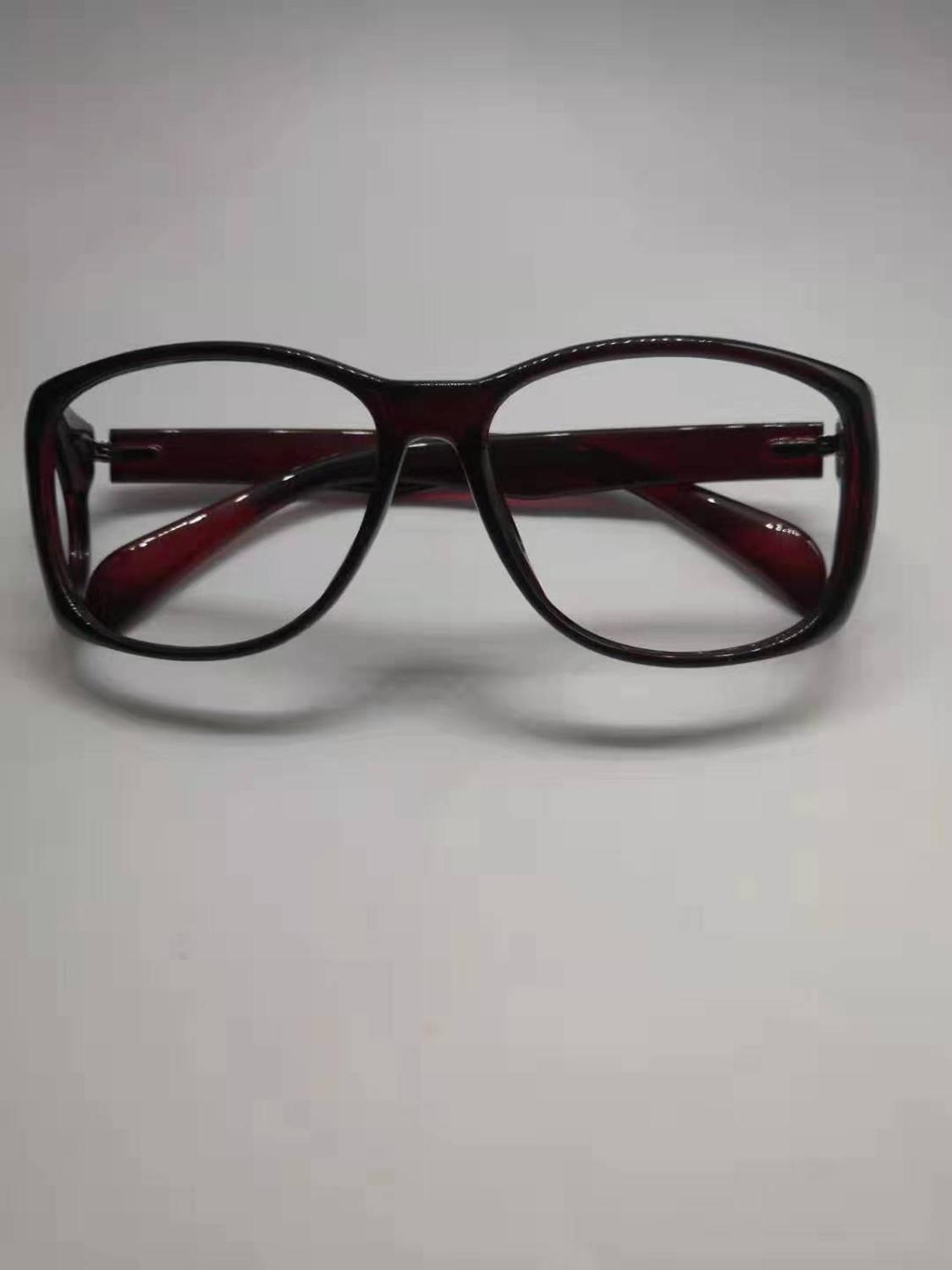 High end ionizing radiation protective Front and side comprehensive protection glasses x-ray shielding 0.5mmpb lead spectacles.