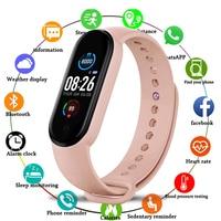 M5 Sport Smart Armband Blutdruck Fitness tracker Smartband Herz Rate Monitor Smart band Armband Männer Frauen Smart Uhr